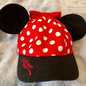 Minnie Mouse Ears Youth Hat